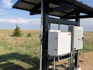 electrical panels for natural gas plan project