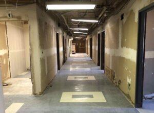 Greenwood County Hospital Hallway